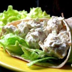 Chicken Salad Tortillas recipe
