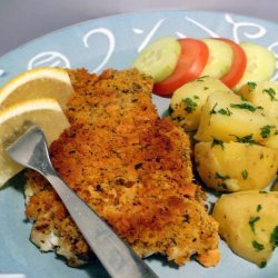 Baked Cod With Crunchy Lemon-Herb Topping recipe