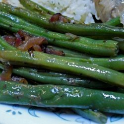 Green Beans With Shallots, Lemon, and Thyme recipe