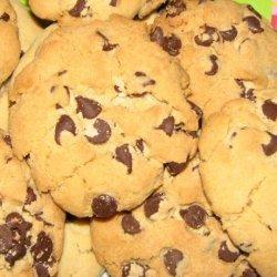 Vegan Chewy Chocolate Chip Cookies recipe
