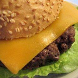 My Favorite Burgers recipe