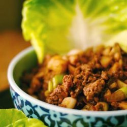 Asian Beef Lettuce Wraps recipe