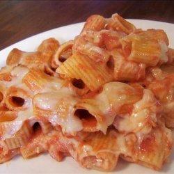 Italian Casserole (Rigatoni and Cheese With Tomato Sauce) recipe