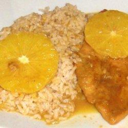 Mom's Orange Curry Chicken recipe