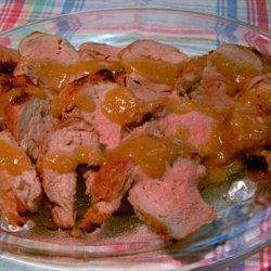 Honey Bourbon Grilled Pork Tenderloin recipe