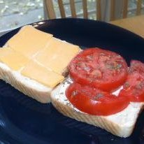 Fresh Tomato Sandwich recipe