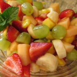 Tequila Lime Syrup for Fruit Salad recipe