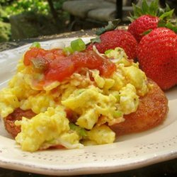 Ww Bacon, Egg and Hash Browns Stacks recipe
