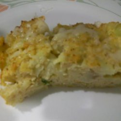 Cauliflower and Cheese Puff recipe