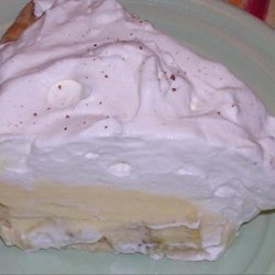 Layered Banana Cream Dream Pie recipe
