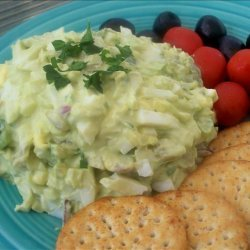 South of the Border Egg Salad recipe