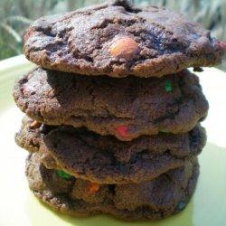Chocolate Chocolate M&m Cookies recipe