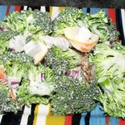 Fresh Broccoli and Apple Salad recipe