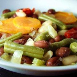 Mediterranean Style Beans and Vegetables (Crock Pot) recipe