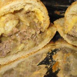 Stuffed French Bread Sandwiches recipe