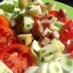 Apple Ham Salad recipe