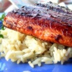 Balsamic Glazed Salmon Fillets recipe
