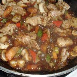 Thai Spicy Stir Fry Chicken recipe