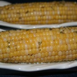 Corn on the Cob With Garlic Herb Butter (Crock Pot) recipe