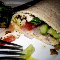 Swiss Chicken Wrap With Honey Mustard Sauce recipe