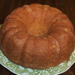No Fail Sour Cream Pound Cake recipe