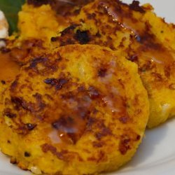 Pumpkin Hash Browns / Vegetarian Pumpkin Burgers recipe