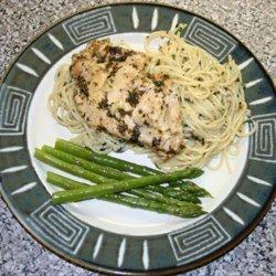 Italian Chicken With New Orleans Spaghetti Bordelaise recipe