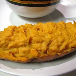 Sweet Twice Baked Sweet Potatoes recipe