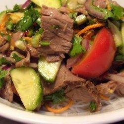 Yam Nuea - Thai Beef Salad recipe