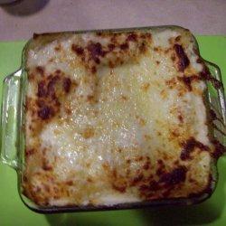 Chicken and Spinach Alfredo Lasagna recipe