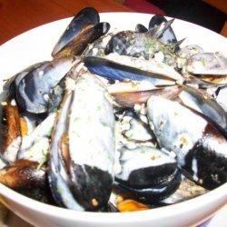 Mussels recipe