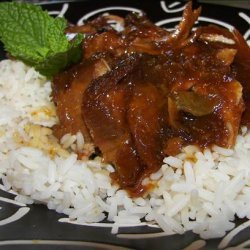 Crock Pot Pork Roast With Apricot and Horseradish recipe