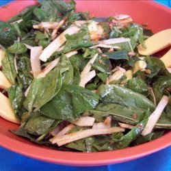 Spinach Salad With Chili Lime Dressing recipe