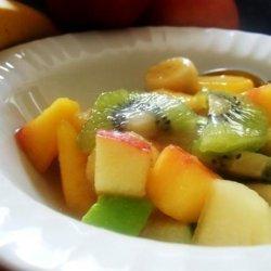 Froutosalata or Mixed Fruit With Orange Juice & Honey (Greec recipe