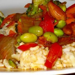 Vegetable and Cashew Stir Fry recipe
