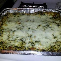 White Vegetable Lasagna recipe