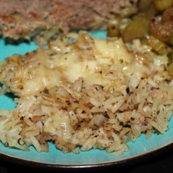 Kumquat's Savory Rice and Cheese Bake recipe