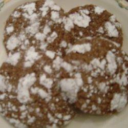 Grammie Bea's Chocolate Crackle Cookies recipe