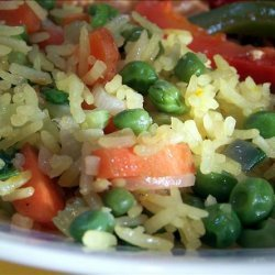 Denise's Saffron Vegetable Fried Rice recipe