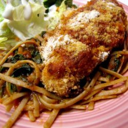 Chicken Parmesan With Whole Wheat  Pasta recipe