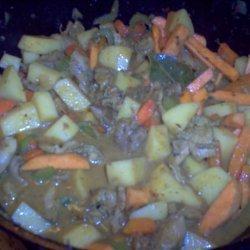 Spicy African Chicken Stew recipe
