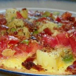 Open Omelette recipe
