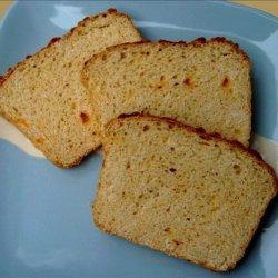 Homemade Garlic Cheddar Cheese Bread recipe