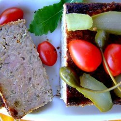 Pork, Orange and Sage Meatloaf recipe