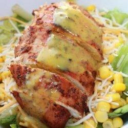 Copycat Applebee's Low-Fat  Blackened Chicken Salad recipe