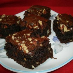 Ultimate Double Chocolate Brownies recipe