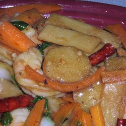 Shrimp With Hot Sauce, Szechuan Style recipe