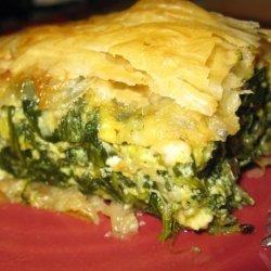 Spanakopita, Spinach Pie recipe