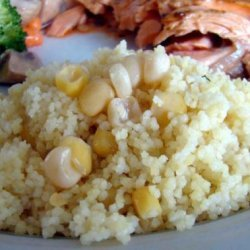 Couscous With Corn recipe