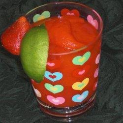 Rachael Ray's Fresh Strawberry Marg-alrightas Margaritas recipe